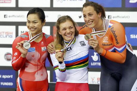 Britain Track Cycling World Championships