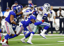 APTOPIX Giants Cowboys Football
