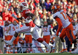 Illinois Wisconsin Football