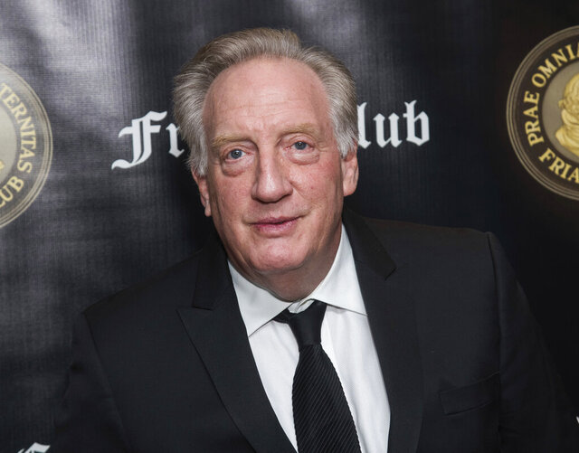 """FILE - This Nov. 12, 2018 file photo shows Alan Zweibel at the Friars Club Entertainment Icon Award ceremony honoring Billy Crystal in New York. In nearly 50 years and counting as a writer, Zweibel has helped shape the tone of """"SNL"""" and crafted TV and stage projects with Billy Crystal, Gilda Radner and Larry David. He details his creative collaborations in the new memoir """"Laugh Lines: My Life Helping Funny People Be Funnier."""" (Photo by Charles Sykes/Invision/AP, File)"""