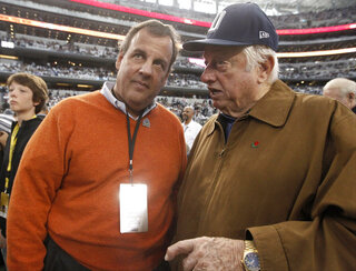Chris Christie, Tommy Lasorda