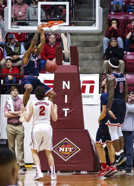NIT Richmond Alabama Basketball