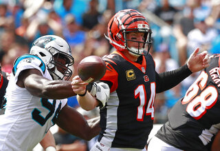Bengals Panthers Football