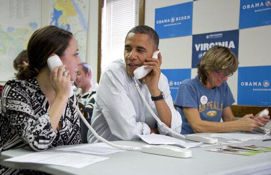 Campaign 2016 Obama's Machine