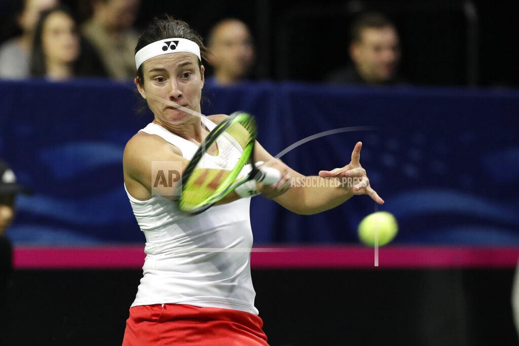 US Latvia Fed Cup Tennis