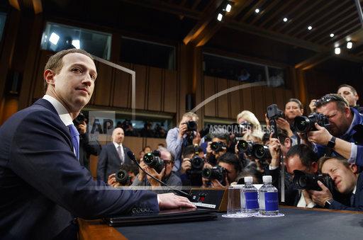 APTOPIX Facebook Privacy Scandal Congress