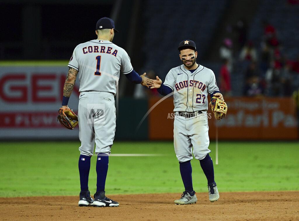 MLB: SEP 22 Astros at Angels