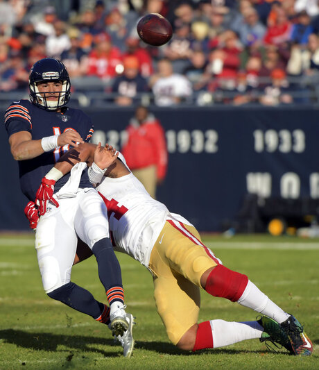 49ers Bears Football