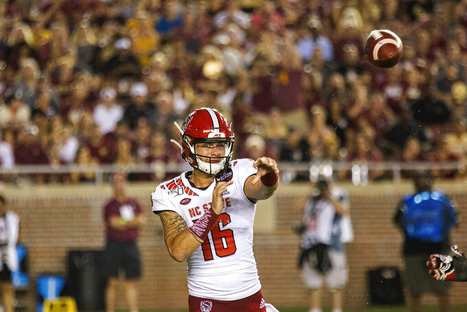 NC State to start Bailey Hockman at QB vs Syracuse