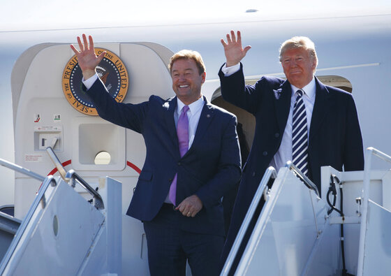 Donald Trump, Dean Heller