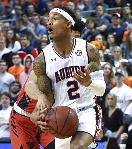 Dayton Auburn Basketball