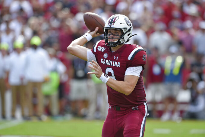 Struggling South Carolina faces crucial 2-game stretch