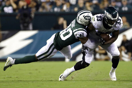 Jets Eagles Football