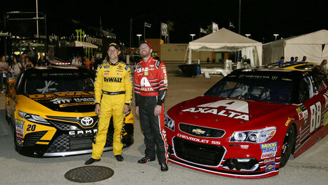 Matt Kenseth, Dale Earnhardt Jr.