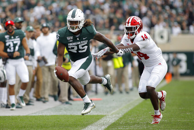 No. 25 Michigan State gears up for tough October schedule
