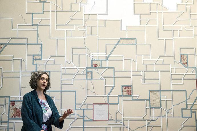 Artist Talia Greene discuses her new mural titled