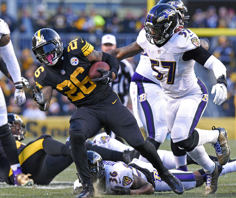 C.J. Mosley, Le'Veon Bell