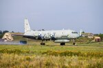 FILE - In this file photo taken on Monday, July 6, 2015, The Russian Il-20 electronic intelligence plane of the Russian air force with the registration number RF 93610, which was accidentally downed by Syrian forces responding to an Israeli air strike takes off from an airfield near Rostov-on-Don, Russia. The Kremlin said that Russian President Vladimir Putin has accepted Israel's offer to share detailed information about the Israeli air raid that triggered the Syrian fire and led to the plane's loss. (AP Photo)
