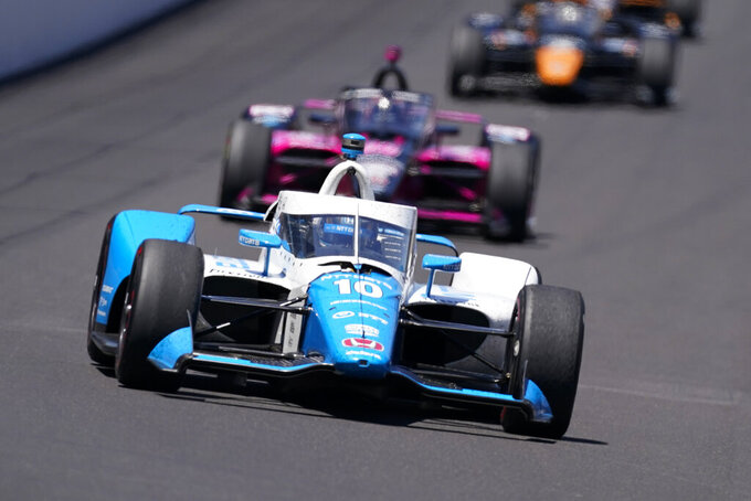 Wait 'til next year: Palou, O'Ward fall to Castroneves