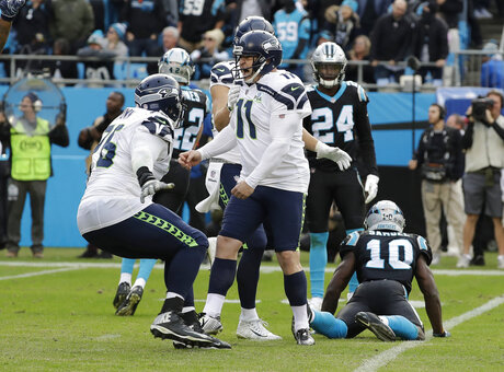 APTOPIX Seahawks Panthers Football