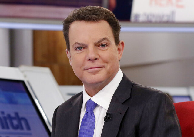 FILE - Shepard Smith appears on The Fox News Deck before his