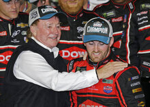 Austin Dillon, Richard Childress