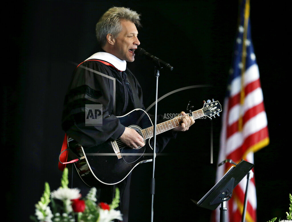 Commencement Bon Jovi