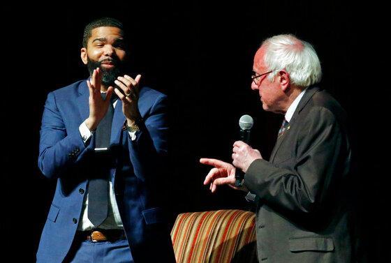Chokwe Antar Lumumba, Bernie Sanders