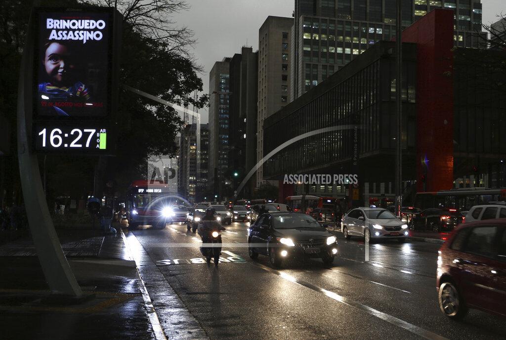 BRAZIL - SAO PAULO - WEATHER