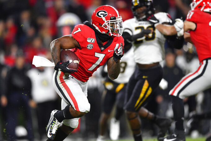 No. 6 Georgia rides tough defense to 27-0 win over Missouri