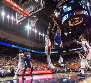 Washington Auburn Basketball