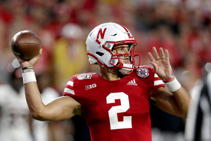 Nebraska puts away Northern Illinois early in a 44-8 win