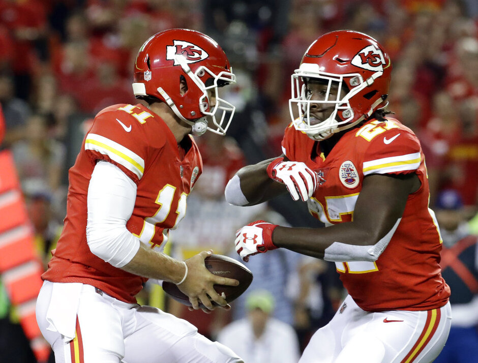 Alex Smith, Kareem Hunt