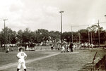 This image provided by Common Pictures shows the 1955 little league baseball game between the Pensacola Jaycees and Orlando Kiwanis at Lake Lorna Doone Park in Orlando, Fla. In 1955, one of the most significant games in American history took place in Orlando, Fla, but hardly anyone knows about it. For the first time, an integrated Little League Baseball game, a group of white kids playing a team of African-American youngsters, was held in the Jim Crow South. The new documentary