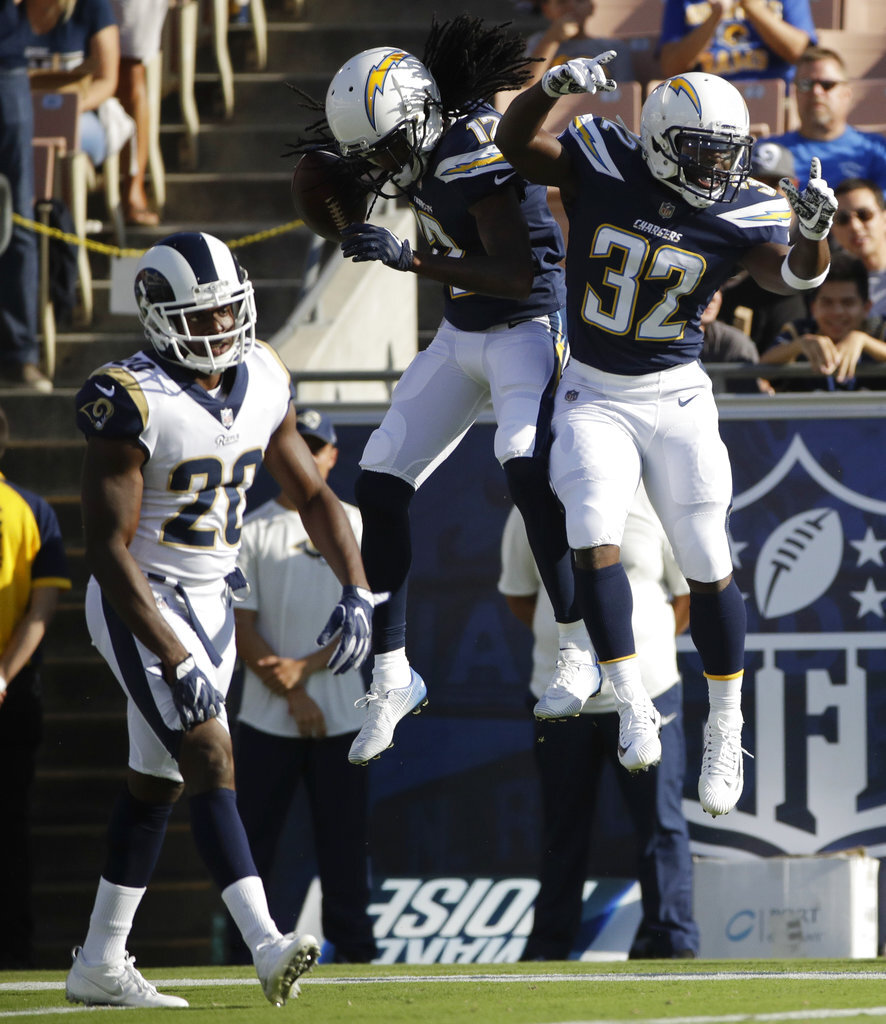 Chargers Rams Football