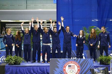 US Swim Trials Diving