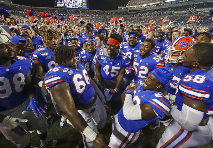 No. 8 Florida ends up relying on defense again in opener