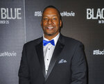 FILE - This Oct. 21, 2019 file photo shows director Deon Taylor at a special screening of his film,