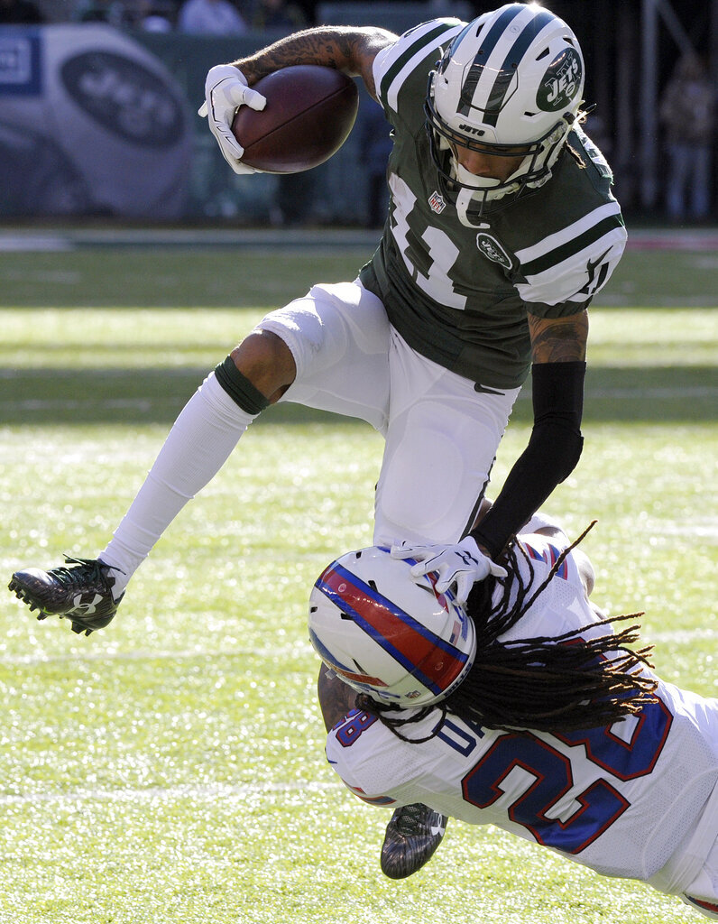 APTOPIX Bills Jets Football