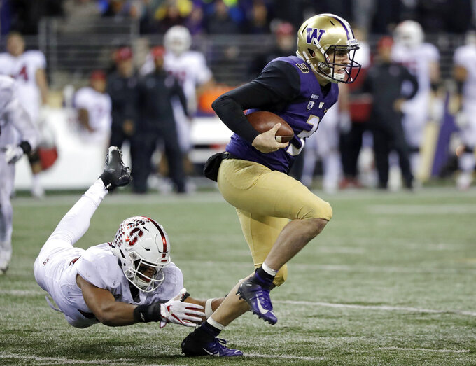 Browning rebounds from benching for No. 20 Washington