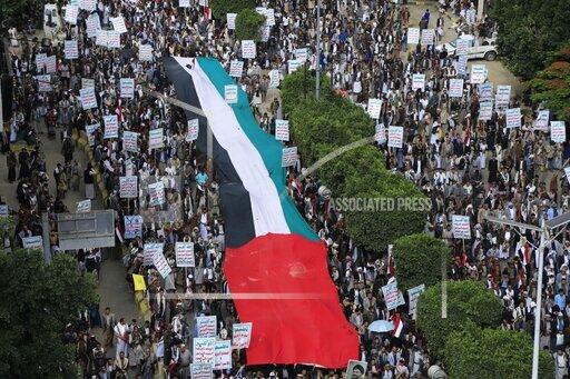APTOPIX Israel Palestinians Yemen