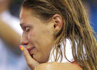 APTOPIX Rio Olympics Swimming