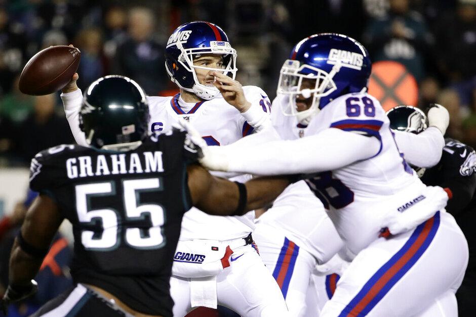 Giants Eagles Football
