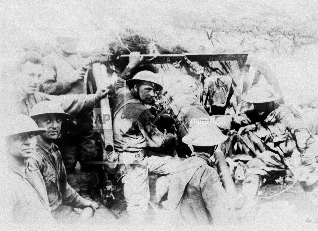 Watchf AP I   FRA APHS456878 WWI France U.S. Troops