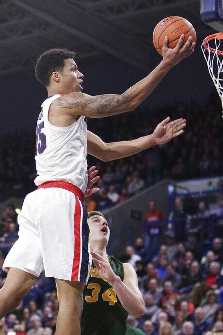 North Dakota St Gonzaga Basketball