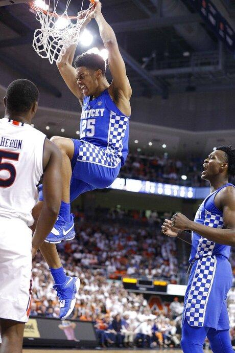 Kentucky Auburn Basketball