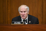 FILE - In this July 17, 2020, file photo Rep. Steve Chabot, R-Ohio, speaks during a House Small Business Committee hearing on oversight of the Small Business Administration and Department of Treasury pandemic programs on Capitol Hill in Washington. Veteran representatives facing tight reelections in include Democrat Collin Peterson of Minnesota and Chabot of Ohio. (Erin Scott/Pool via AP, File)