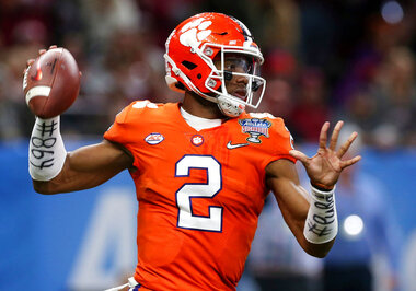 Clemson Quarterback Depth Football
