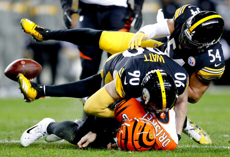 APTOPIX Bengals Steelers Football