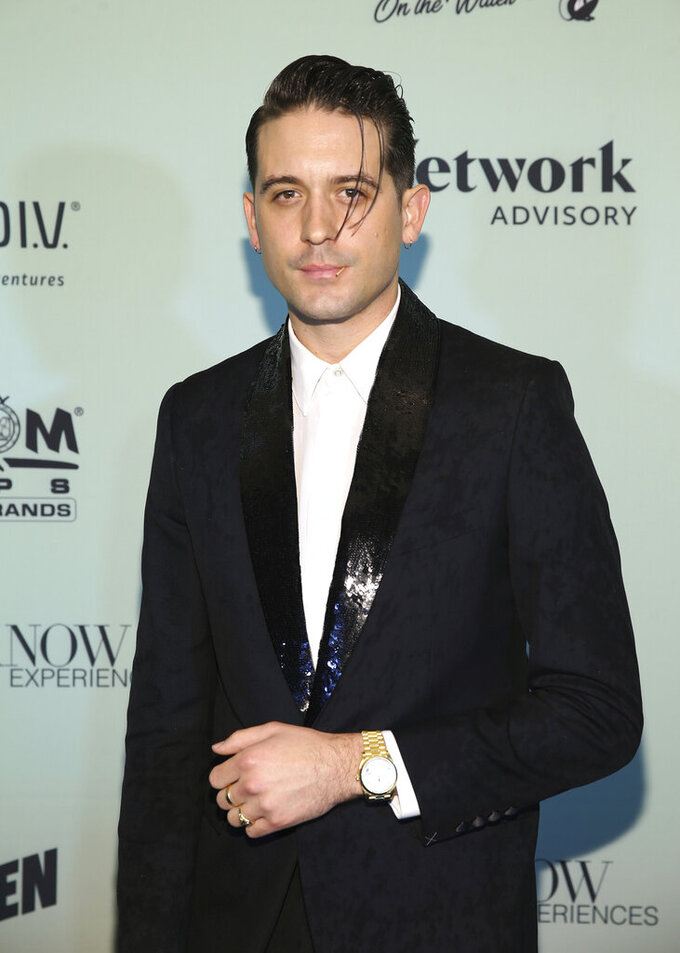 Rapper G-Eazy attends the Bootsy On the Water at the Miami Seaquarium on Friday, Jan. 31, 2020, in Miami, FL. (Photo by Donald Traill/Invision/AP)